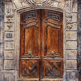 Parisian Door No. 37 by Joey Agbayani