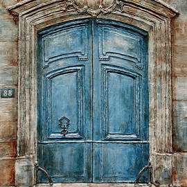 Parisian Door No. 88 by Joey Agbayani