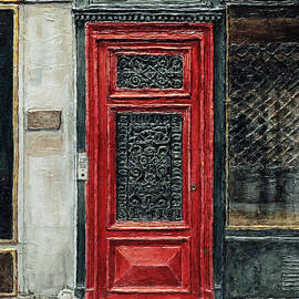 Parisian Door No.28-2 by Joey Agbayani