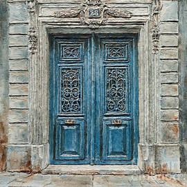 Parisian Door No.28 by Joey Agbayani