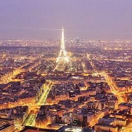 Parisian Dusk by David Broome