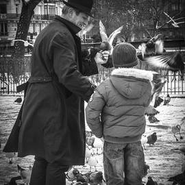 Parisian Father and Son by Kaleidoscopik Photography