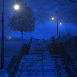 Park Stairs by Michael Rucker