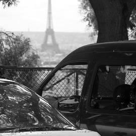 Parking View - Paris by Lisa Parrish