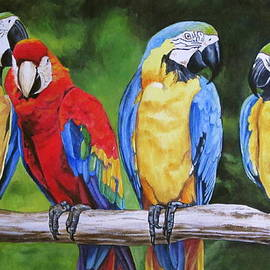 Lillian  Bell - Parrots Party line