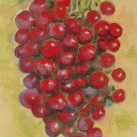 Joseph Hawkins - Pastel Grapes