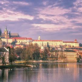 Joan Carroll - Pastel Prague Morning