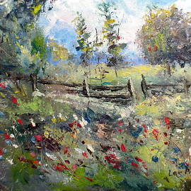 Lee Piper - Pasture With Fence