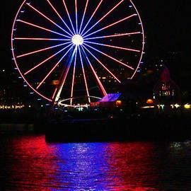 Kym Backland - Patriotic Ferris Wheel