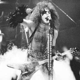 Paul Stanley in the Garden by Steven Macanka