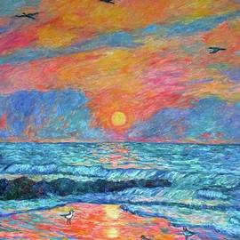 Kendall Kessler - Pawleys Island Cormorant Sunrise