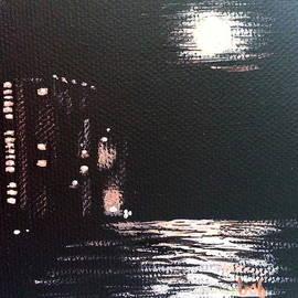 Pcb Moon by Brenda Stevens Fanning