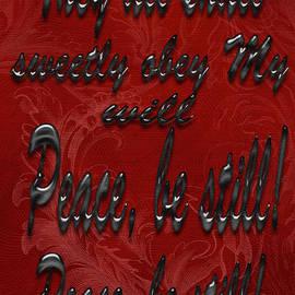 Tina M Wenger - Peace Be Still