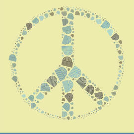 Variance Collections - Peace Symbol Design - y87d