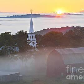 Alan L Graham - Peacham Vermont Sunrise