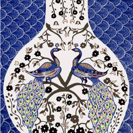 Peacock Love by Karunita Kapoor