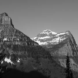 Peaking at Glacier National Park by Mark McKinney