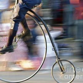 Pedaling Past by Ann Horn