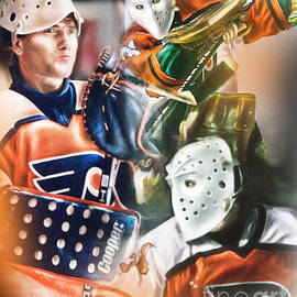 Pelle Lindbergh by Mike Oulton