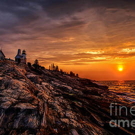 Pemaquid Sunrise  by Jerry Fornarotto