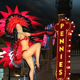 Cynthia Guinn - Pennies Sign In Vegas