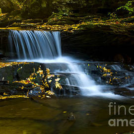 Paul W Faust -  Impressions of Light - Pennsylvania Mountain Falls