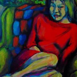 Pensive Portrait by John Malone