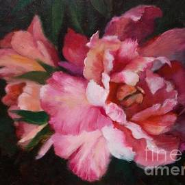 Marlene Book - Peonies No 8 The Painting