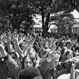 People's Park Rally by Underwood Archives