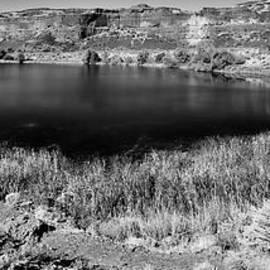 Perch Lake Monochrome by Allan Van Gasbeck