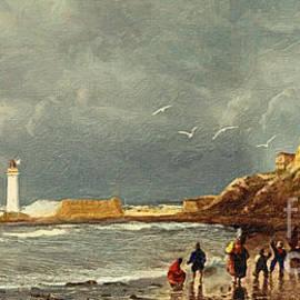 Perch Rock - New Brighton 1829 by Lianne Schneider