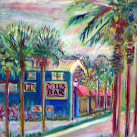 Pete's Bar in Neptune Beach by Patricia Clark Taylor