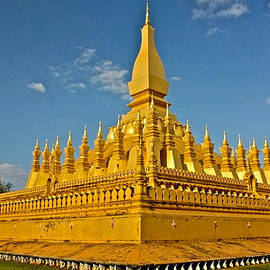 Venetia Featherstone-Witty - Temple of Pha That Luang Laos
