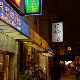 Philadelphia Chinatown-Night Walk by Alex Vishnevsky