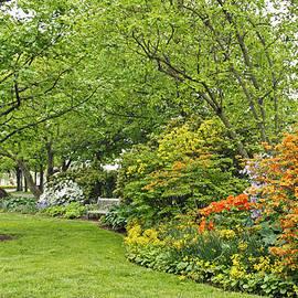 Philadelphia's Azalea Garden - Pennsylvania - USA by Carol Senske