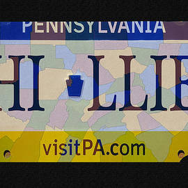 Bill Cannon - Phillies License Plate Map