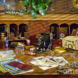 Photographers Desk 1939 by Martin Konopacki
