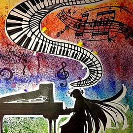 Moqing Si - Piano girl