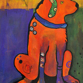 Pickle Dog by Pat Saunders-White
