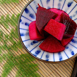 James Temple - Pickled Beet Root with Daikon Radish