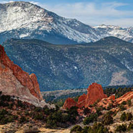 Gregory Ballos - Pikes Peak Panorama - Garden of the Gods - Colorado Springs