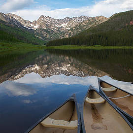 Piney Lake Canoes by Aaron Spong