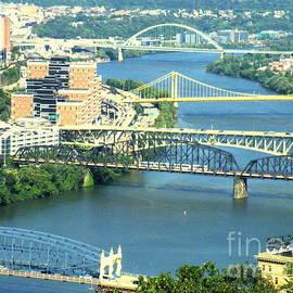Pittsburgh City Of Bridges by Joe Pratt