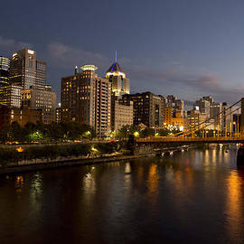 Pittsburgh from the 9th Street Bridge by Mark Milar
