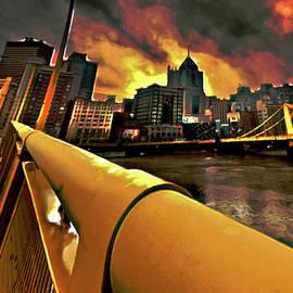 Fli Art - Pittsburgh Skyline