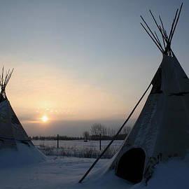 Larry Trupp - Plains Cree Tipi