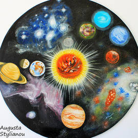 Planets And Nebulae In A Day by Augusta Stylianou