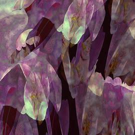 Plantasia in Magenta and Lime by Lynda Lehmann