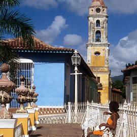 Plaza Mayor Trinidad by James Brunker