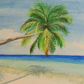 Pleasant Palm by Connie Campbell Rosenthal